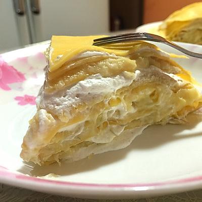 榴莲千层蛋糕/班戟