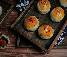 #一人一道拿手菜#蛋黄酥的做法
