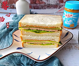 #四季宝蓝小罐#三明治这样做美味减脂又健康的做法