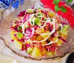 #一起土豆沙拉吧#清新爽口土豆沙拉的做法