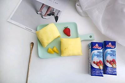 #安佳儿童创意料理#草莓班戟