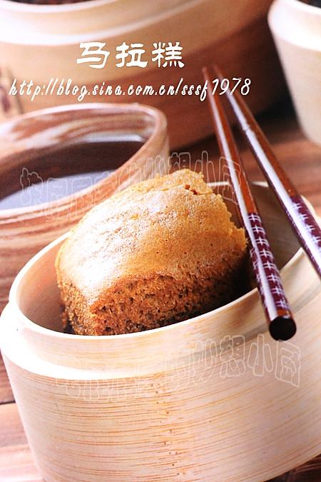 红糖马拉糕的做法