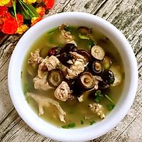 香菇红枣炖鸡汤的做法图解9