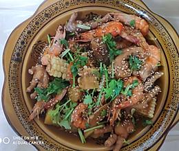 #美食新势力#明虾煲的做法