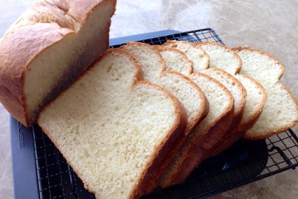 北海道吐司~面包机版的做法