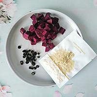 #餐桌上的春日限定# 美容养颜的紫薯银耳羹的做法图解1