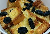 黑加仑蛋奶土司烤布丁的做法