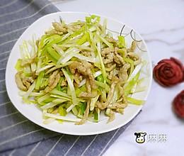 肉丝黄芽韭#每道菜都是一台食光机#的做法