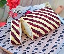 条纹蛋糕卷#单挑夏天#的做法