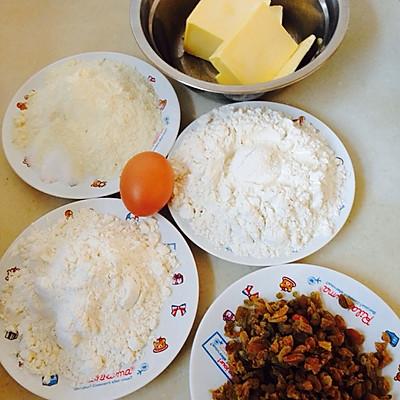葡萄干切片饼干的做法 步骤3