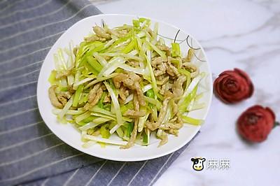 肉丝黄芽韭#每道菜都是一台食光机#