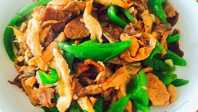 平菇小炒肉