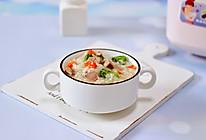 #父亲节,给老爸做道菜#西兰花猪肝粥(宝宝辅食)的做法