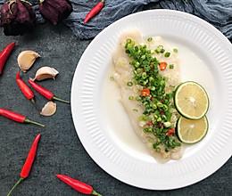 健康减脂/青柠蒸巴沙鱼的做法