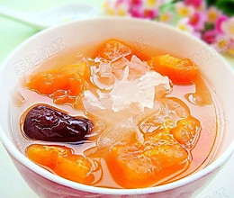 红枣木瓜银耳汤的做法