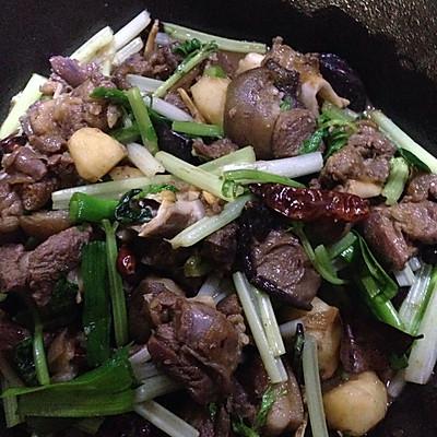 干锅羊肉的做法 步骤1