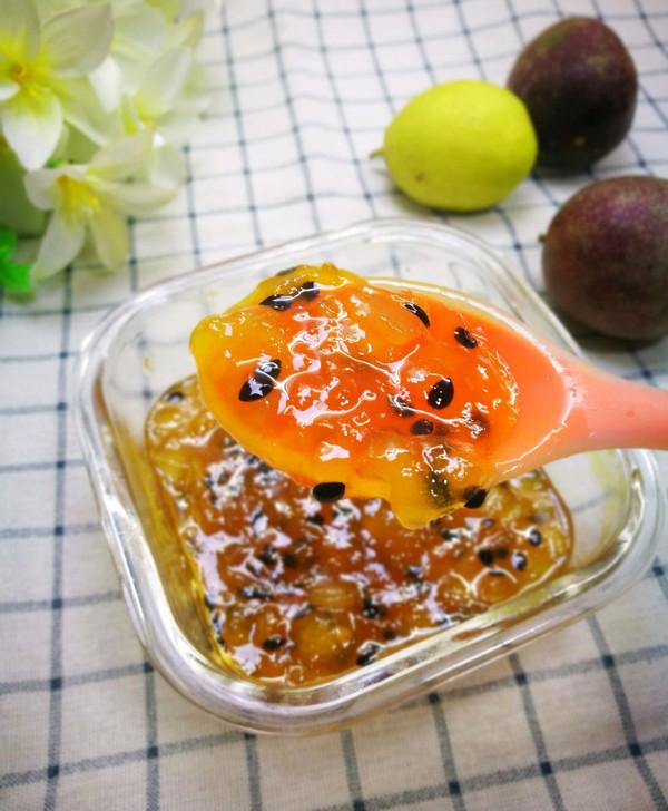 糖友也可以吃的 百香果梨子酱的做法