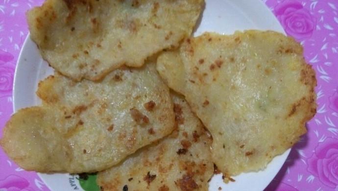 土豆肉泥饼