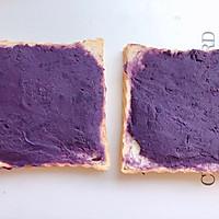 低卡早餐——厚切紫薯香蕉三明治的做法图解6
