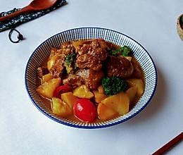西洋苹果咖喱鸡的做法