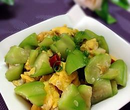 蚝油丝瓜炒蛋的做法
