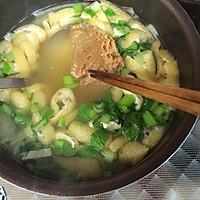 """日本料理""""味增汤""""(味噌汁)的做法图解9"""