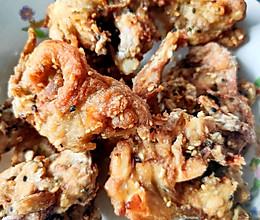 空气炸锅版无油五香酥皮炸鸡的做法