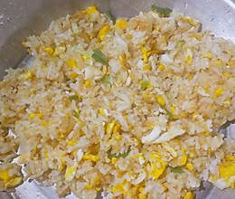 自家土鸡蛋炒饭的做法