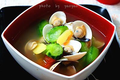 白贝丝瓜汤