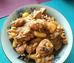 鸡肉土豆胡萝卜的做法