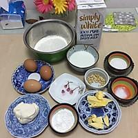 樱花乳酪派和松仁乳酪挞的做法图解1