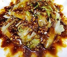 #我们约饭吧#简单快手菜:耗油生菜的做法