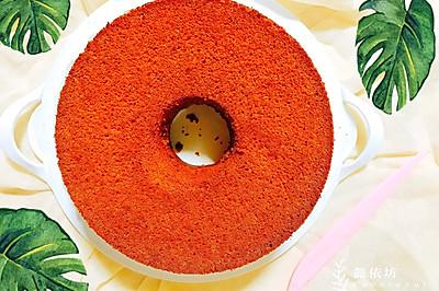 自制红枣泥红糖戚风蛋糕