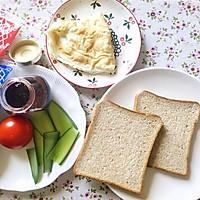 田园早餐三明治的做法图解2
