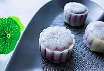 藜麦紫薯冰皮月饼的做法