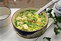 #换着花样吃早餐#白菜豆腐汤的做法