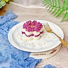 #洗手作羹汤#桂花紫薯雪蒸糕