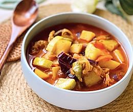 #中秋团圆食味#韩式泡菜汤,异国风情料理跟我做很简单哦的做法
