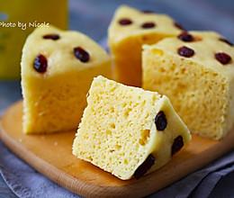 #换着花样吃早餐#中式蛋糕|玉米面发糕的做法