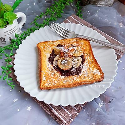 法式香蕉蛋奶吐司【宝宝最爱早餐】