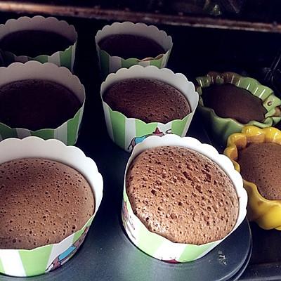 巧克力无油无水麦芬蛋糕(正宗减肥蛋糕)