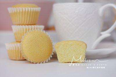 杏仁mini纸杯蛋糕