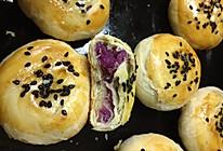 紫薯馅老婆饼的做法