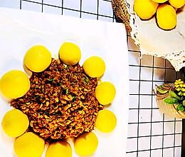 #中秋团圆食味#俪姐美食之笋菇炒肉➕玉米面窝窝头的做法