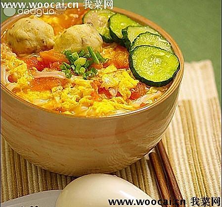西红柿鸡蛋拌面【陕西口味】的做法