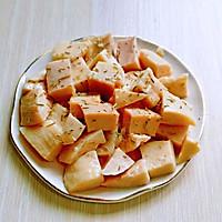 山葵木鱼花三文鱼沙拉#花10分钟,做一道菜!#的做法图解5