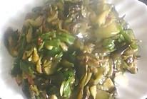 茄子炒辣椒的做法