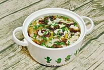 #我的养生日常-远离秋燥#菌菇紫菜蛋花汤的做法