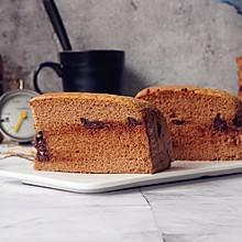 巧克力味古早蛋糕