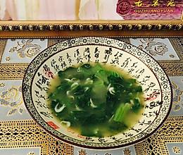 减肥食谱-清爽白菜汤的做法